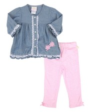 Infant & Newborn - Chambray & Legging Set (2T-4T)-2258620