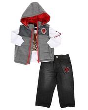 Infant & Newborn - 3 Piece Vest Set (Infant)-2257955