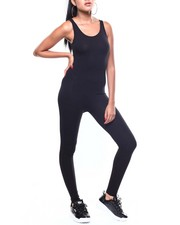 Jumpsuits - S/L Cotton Span Tank Catsuit-2256178