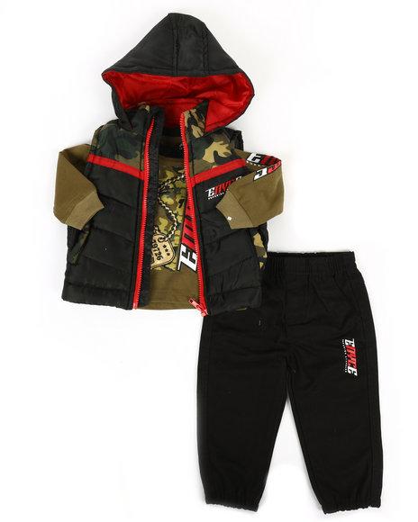 Enyce - 3 Piece Vest Set (2T-4T)