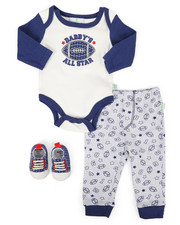 Duck Duck Goose - 3 Piece All Star Knit Set (Infant)-2258338