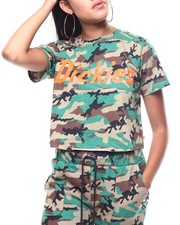Dickies - Camo Genuine Logo Cropped Camo Tee-2260667