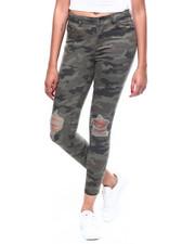 Jeans - Distressed Camo Skinny Jean-2260261
