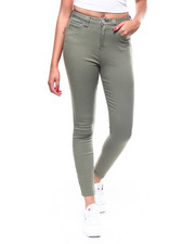 Bottoms - Authentic 5 Pocket High Rise Skinny Modal-2260738