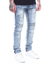 Kilogram - PAINT SPLATTER DISTRESSED MOTO JEAN-2261680