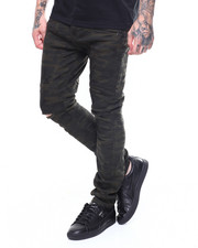 Buyers Picks - Distressed Twill Moto Pant-2261595