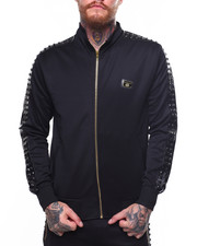 Track Jackets - Embossed Stud Track Jacket-2261602