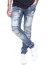 Kilogram - PAINT SPLATTER DISTRESSED MOTO JEAN-2261672