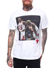 Mitchell & Ness - CHICAGO BULLS Photo Real Tee-2261719