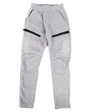 SWITCH - Quilted Fleece Jogger w/Zip Trim (8-20)-2259555