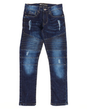 Southpole - Flex Ripped Biker Denim Jeans (8-20)-2261140