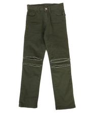 Pants - Ripped Repaired Twill Pants (8-20)-2261175