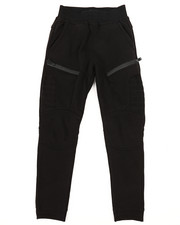 SWITCH - Quilted Fleece Jogger w/Zip Trim (8-20)-2259561