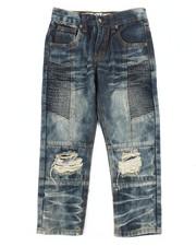 Arcade Styles - Knee Rip & Repair Jeans (4-7)-2261217