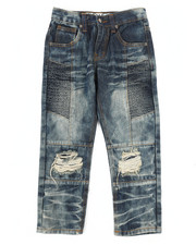 Jeans - Knee Rip & Repair Jeans (4-7)-2261217
