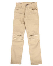 Pants - Ripped Repaired Twill Pants (8-20)-2261168