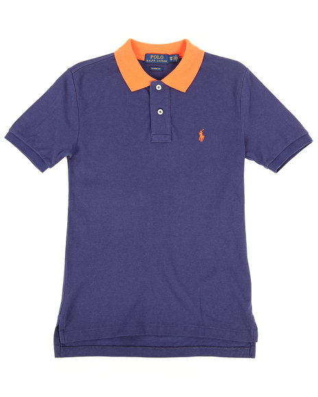 Polo Ralph Lauren - Cotton Mesh Polo Shirt (8-20)