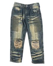 Arcade Styles - Knee Rip & Repair Jeans (4-7)-2261212