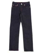 Jeans - Single End Straight Jeans (7-16)-2260443
