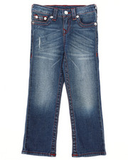 Bottoms - Single End Straight Jeans (4-7)-2260457