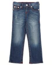 Boys - Single End Straight Jeans (4-7)-2260457