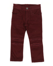 Bottoms - Ripped Repaired Twill Pants (2T-4T)-2261182