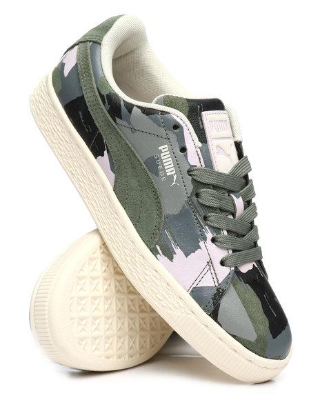 designer fashion 805d1 48ef4 suede classic camo sneakers