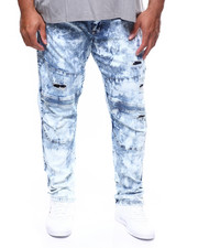 SMOKE RISE - Fashion Denim Jean/Color Rip Off (B&T)-2262020