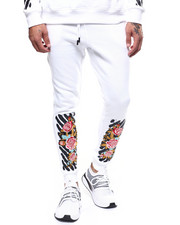 Buyers Picks - Floral Bar Code Jogger-2262544