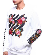 Buyers Picks - Floral barcode Crewneck Sweatshirt-2262514