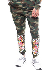 Buyers Picks - Floral Bar Code Jogger-2262549