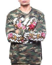 Buyers Picks - Floral barcode Crewneck Sweatshirt-2262520
