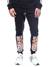 Buyers Picks - Floral Bar Code Jogger-2262538
