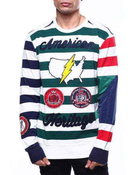 Heritage America - US BOLT Stripe Sweater
