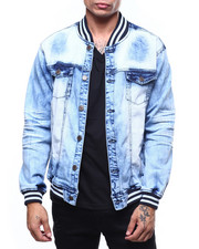 Copper Rivet - DENIM BOMBER JACKET-2262691