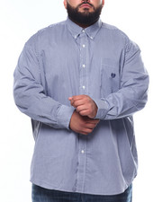Big & Tall Faves - L/S Stretch EasyCare H-Ec Stretch Sport Shirt (B&T)-2262949
