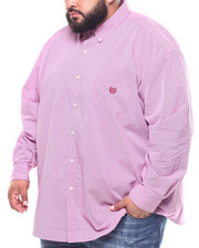 Big & Tall Faves - L/S Stretch EasyCare H-Ec Stretch Sport Shirt (B&T)-2262953