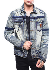 Heritage America - Denim Jacket w Tape Detail-2262883