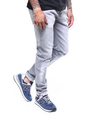 Jordan Craig - Sean Skinny Fit Blownout knee Stretch Jean-2262314