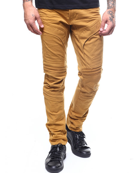 SMOKE RISE - RIBBED ATRICULATED TWILL PANT