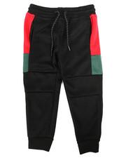Arcade Styles - Color Block Tech Fleece Joggers (4-7)-2261314