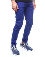 Jeans & Pants - Stretch Twill Blown out Knee pant-2262179