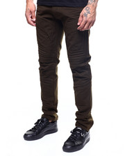 SMOKE RISE - RIBBED ATRICULATED TWILL PANT-2262380