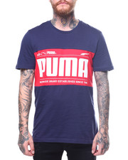 Puma - Graphic Logo Block Tee-2263636