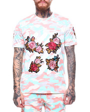 Men - Floral Bar Code Tee-2263360
