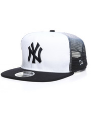 New Era - 9Fifty High Crown 2T Team Grade NY Yankees Trucker Hat-2259022
