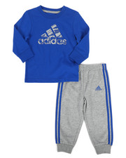 Adidas - 2 Piece All Pro Top & Jogger Set (Infant)-2262956