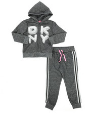 Girls - 2 Piece Hoodie & Jogger Set (4-6X)-2263952