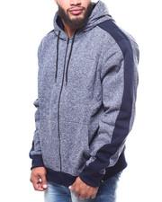 Light Jackets - Side Panel Marled Fleece (B&T)-2263034