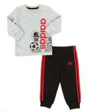 Adidas - 2 Piece All Pro Top & Jogger Set (Infant)-2262940